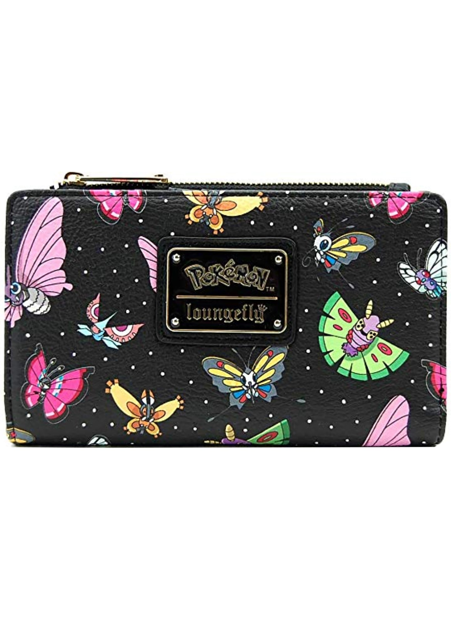 Loungefly X Pokemon Butterfly AOP Wallet
