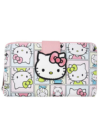 X Sanrio Hello Kitty Telephone Flap Wallet
