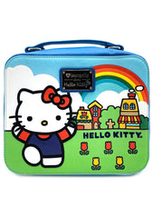 X Sanrio Hello Kitty Scenery Lunch Box Shaped Crossbody Bag