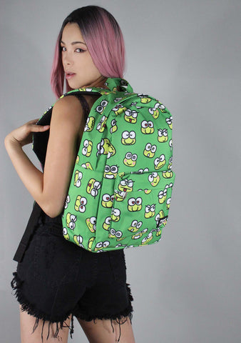 X Sanrio Keroppi Face AOP Backpack