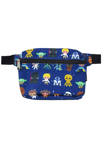 X Star Wars Baby Characters AOP Fanny Pack