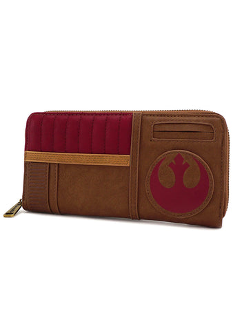 X Star Wars The Last Jedi Finn Zip Around Wallet