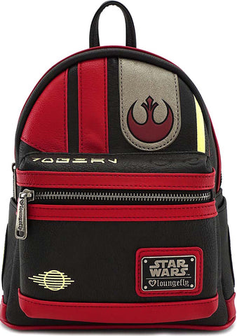 X Star Wars The Last Jedi Poe Cosplay Mini Backpack