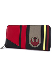 X Star Wars The Last Jedi Poe Zip Around Wallet