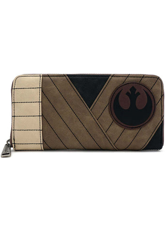 X Star Wars The Last Jedi Rey Zip Around Wallet