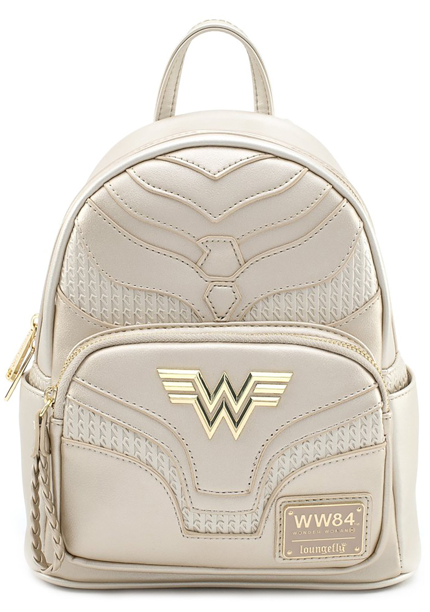 X DC Comics Wonder Woman 1984 Gold Mini Backpack