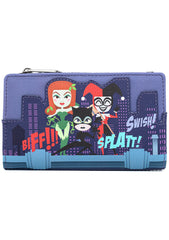 X DC Comics Gotham City Sirens Wallet