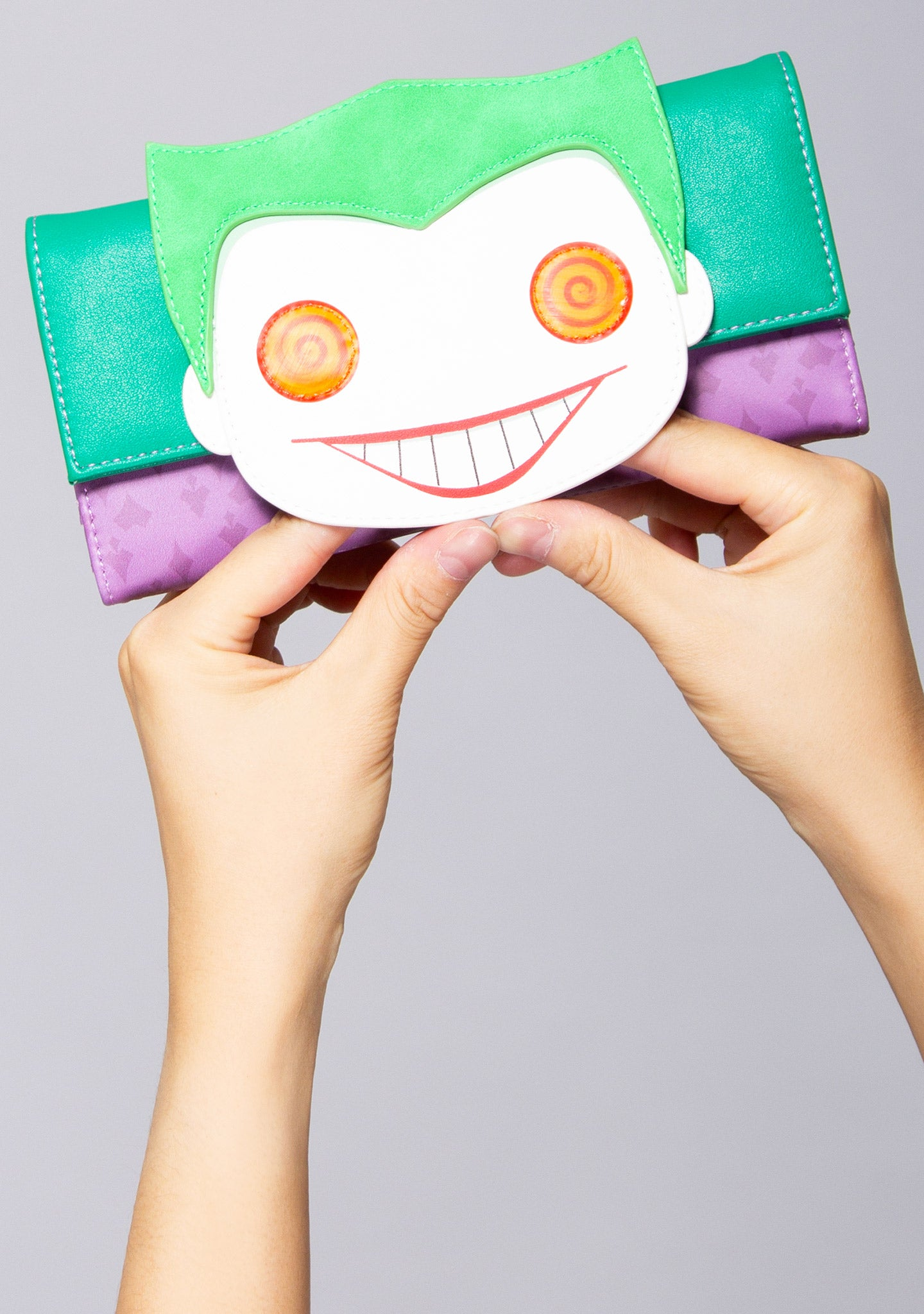 X DC Comics POP! Joker Head Wallet