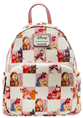 X Disney BFF Character Checker Rose Mini Backpack