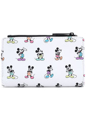 X Disney Mickey Mouse Pastel Poses Wallet