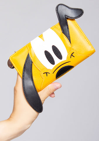X Disney Pluto Cosplay Flap Wallet