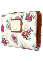 X Disney Princess Floral AOP Wallet