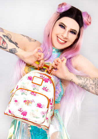 X Disney Princess Floral AOP Mini Backpack