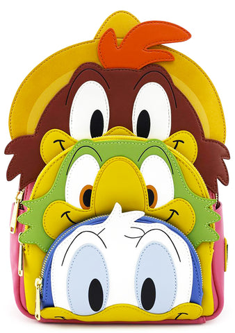 X Disney The Three Caballeros Stacked Mini Backpack
