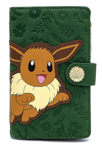 X Pokemon Flying Eevee Wallet