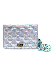 LBCarly Holographic Star Crossbody Bag