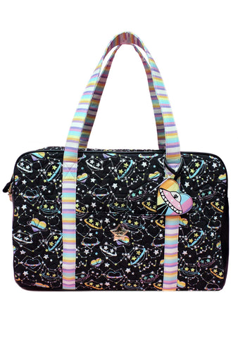 LBCruzin Galactic Cat Weekender Bag