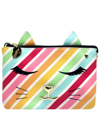 LBDoublZ Rainbow Cat Crossbody Bag