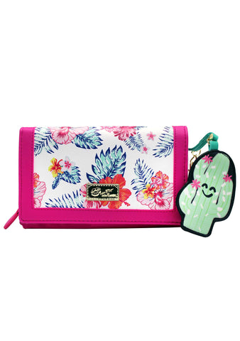 LBLilly Floral Wallet On A String Bag