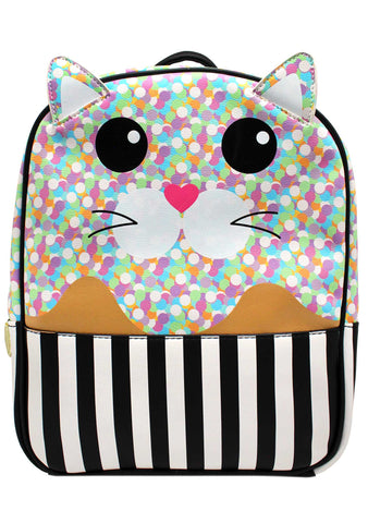 LBMax Confetti Cat Backpack