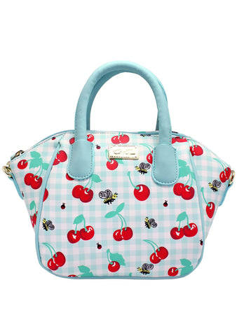 LBQuinn Cherry Mini Satchel Bag