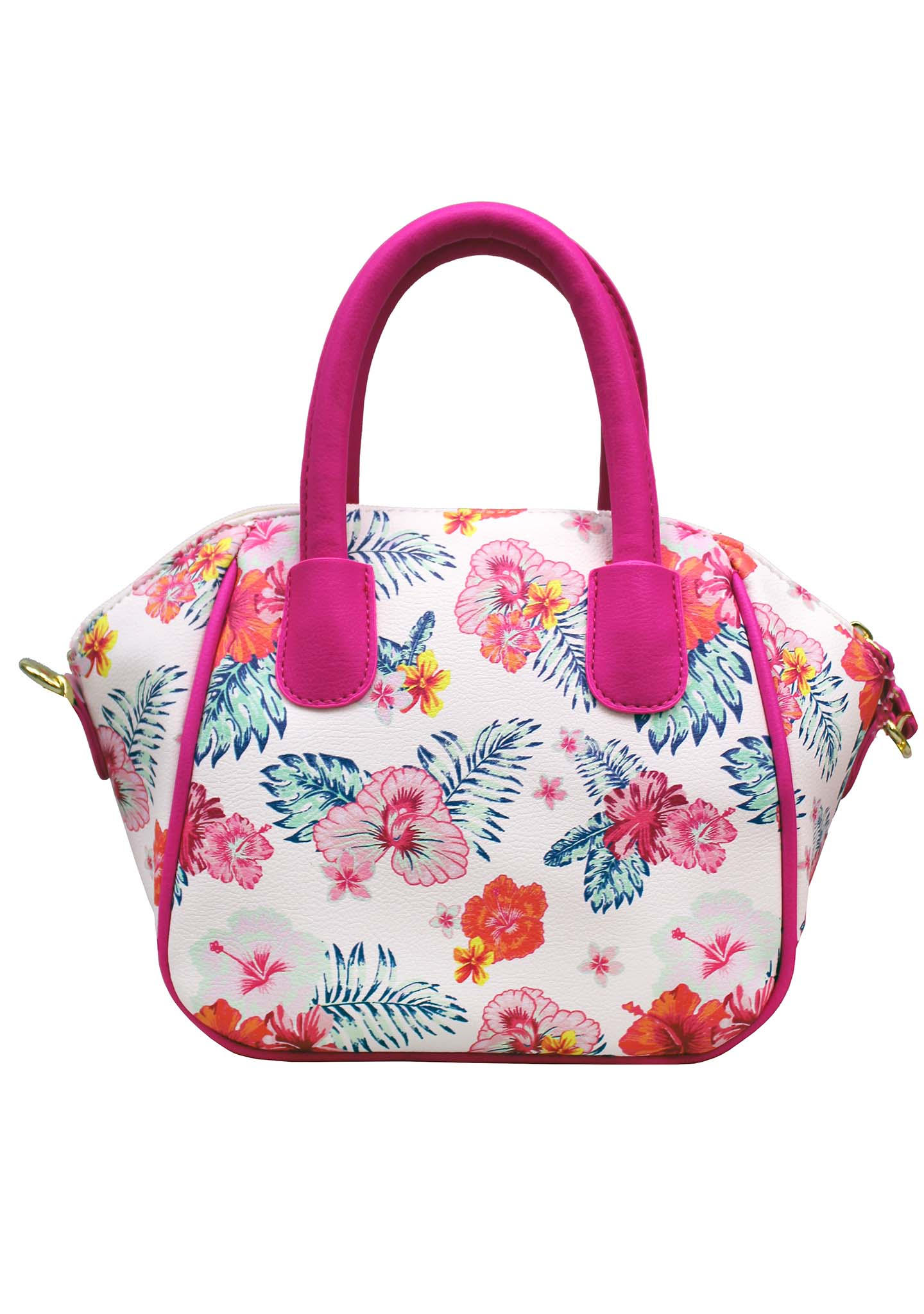 LBQuinn Floral Mini Satchel Bag