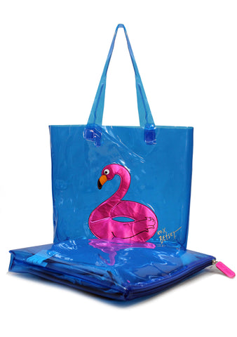Flamingo Tote & Float Bag