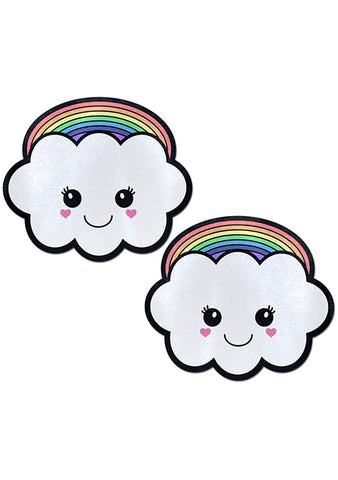 Pastease Rainbow Kawaii Cloud Nipple Pasties