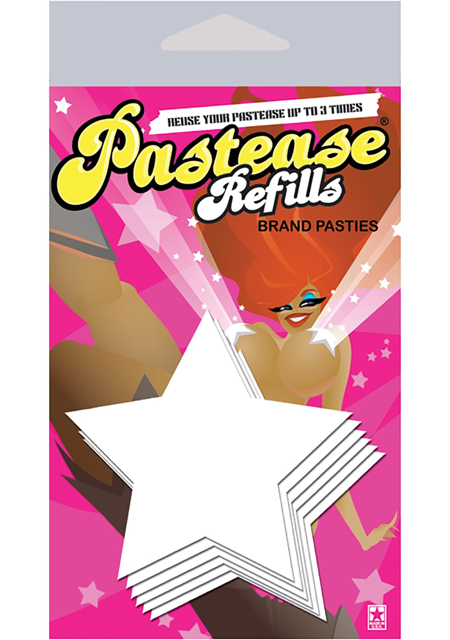 Star Nipple Pasties Refill 3PK