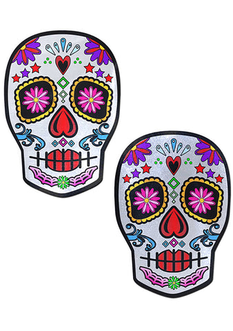 Pastease Sugar Skull Nipple Pasties