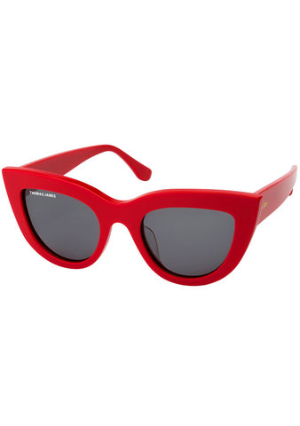 Tart Sunglasses in Red