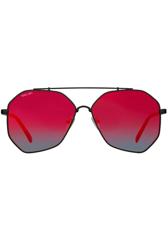 Waverly Sunglasses in Red Ocean