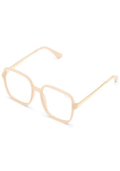 9 to 5 Blue Light Glasses in Peach