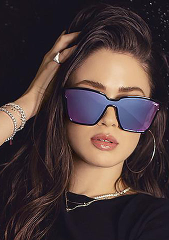 After Dark Sunglasses in Black/Purple/Pink