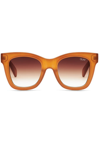 After Hours Sunglasses in Toffee Brown Fade
