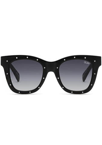 After Hours Sunglasses in Black Silver Stud