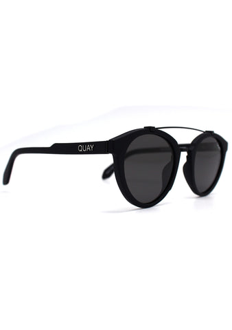 All Over Sunglasses in Black/Smoke