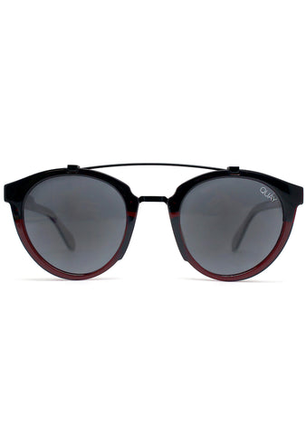 All Over Sunglasses in Red/Smoke