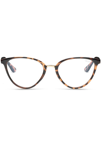 Blue Light Rumours Glasses in Tortoise/Clear