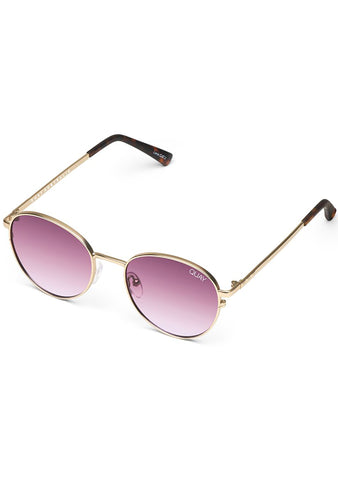 Crazy Love Sunglasses in Gold/Purple