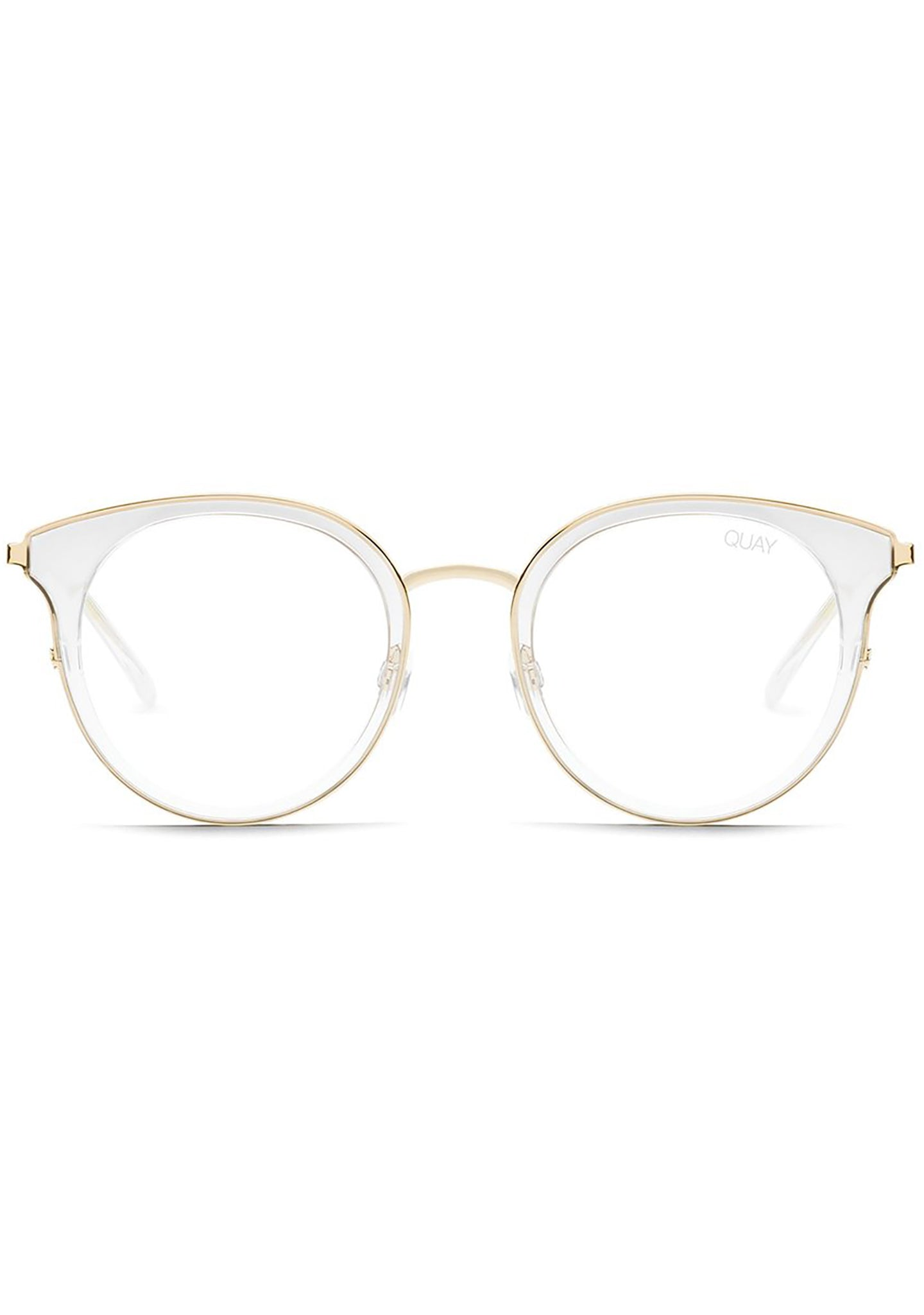 Quay Australia Cryptic Blue Light Glasses in Clear