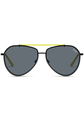 Dirty Habit Sunglasses in Black/Neon Green