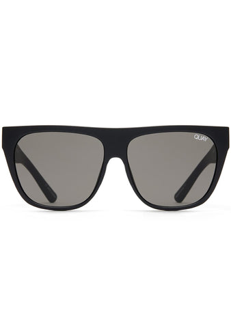X Tony Bianco Drama By Day Sunglasses in Black/Smoke