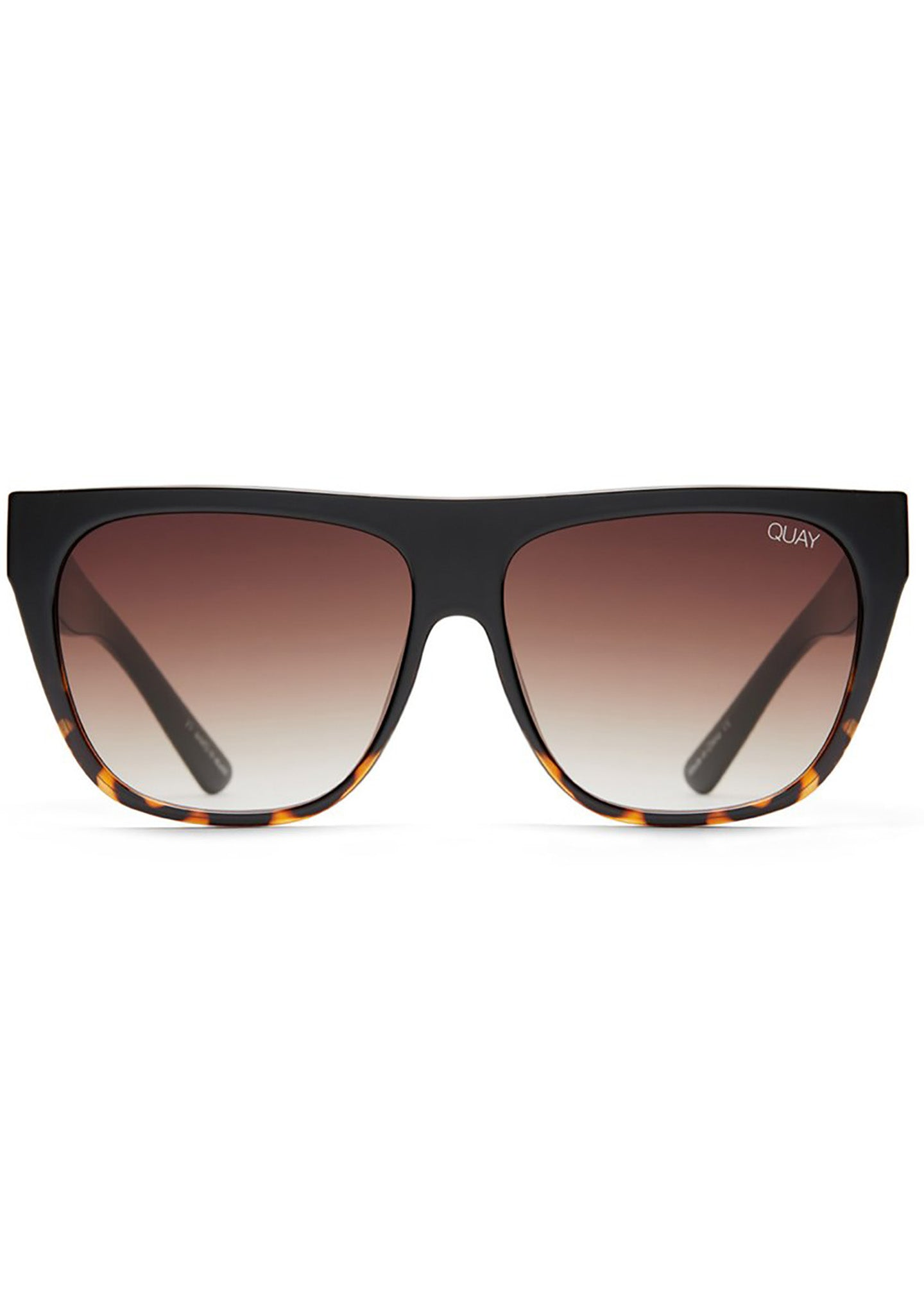 X Tony Bianco Drama By Day Sunglasses in Tortoise/Brown Fade