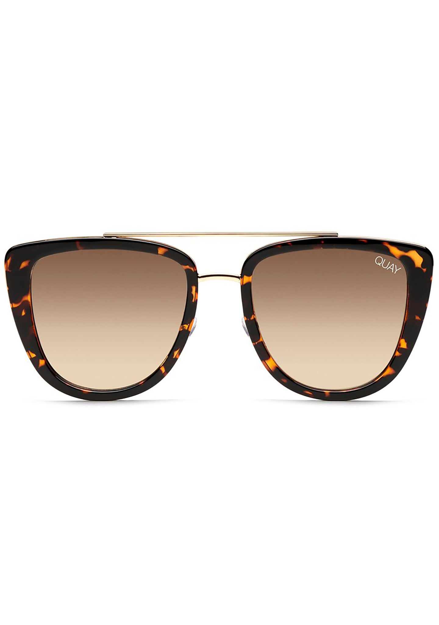 French Kiss Sunglasses in Tortoise/Gold