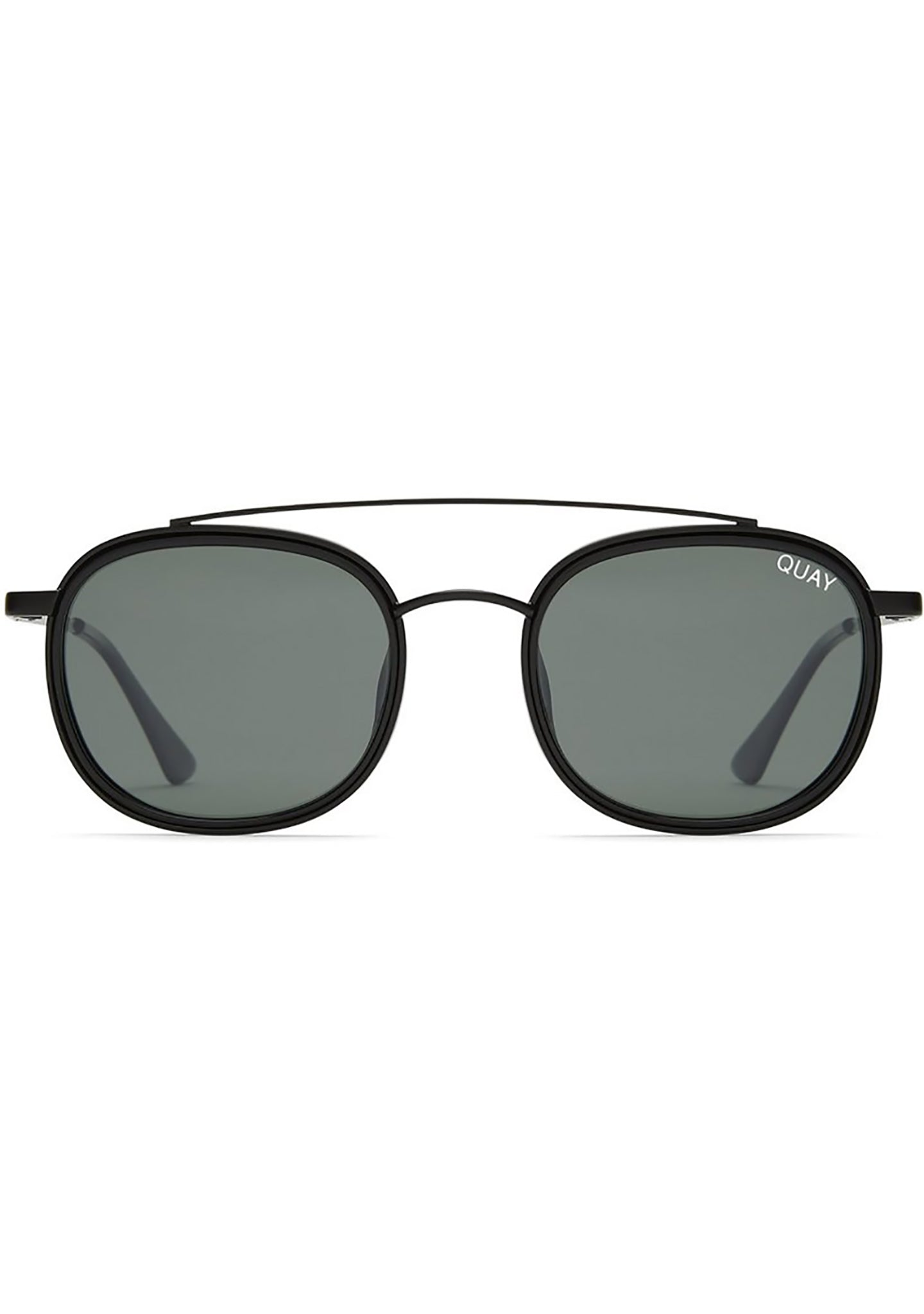 Got It Covered Sunglasses in Black/Green