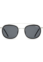 Got It Covered Sunglasses in Black/Silver