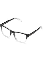 Hardwire Blue Light Glasses in Black Clear Fade