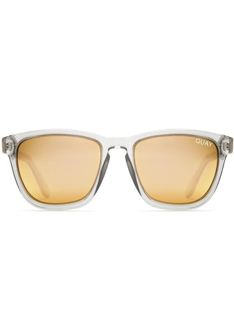 Hardwire Sunglasses in Grey/Peach