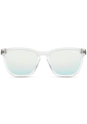 Hardwire Sunglasses in Clear Lime